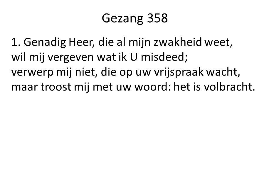 Gezang 358 1.