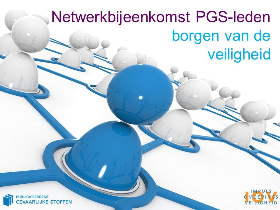 Netwerkbijeenkomst PGS-leden borgen van de veiligheid
