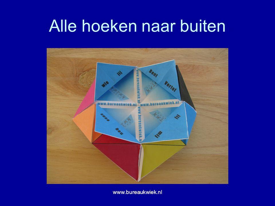 Alle hoeken naar buiten www.bureaukwiek.nl