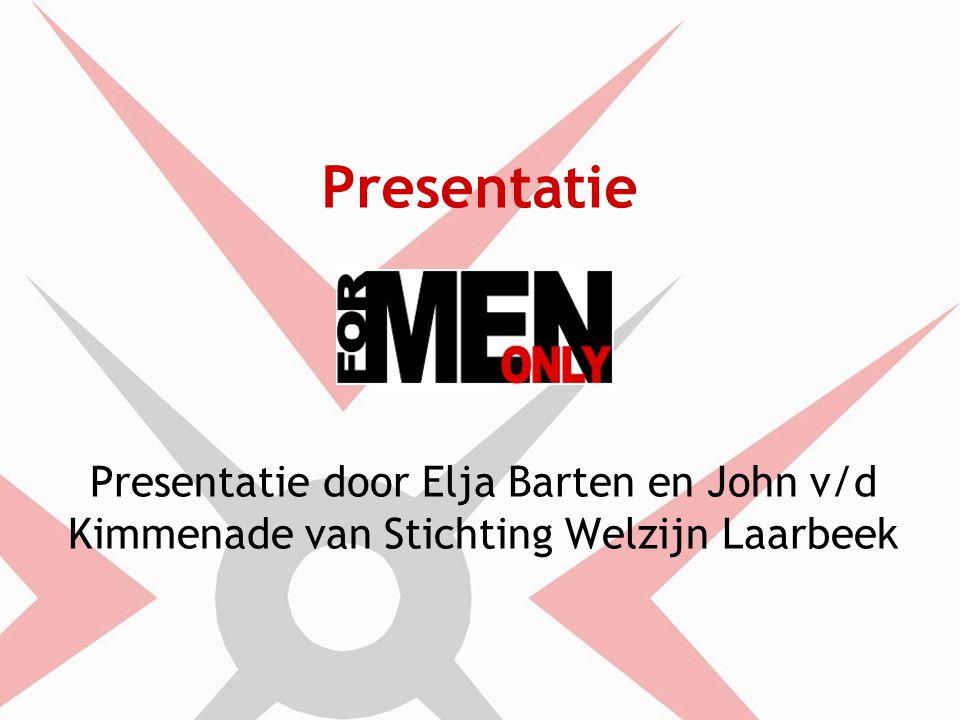 Presentatie Presentatie door Elja Barten en John v/d Kimmenade van Stichting Welzijn Laarbeek