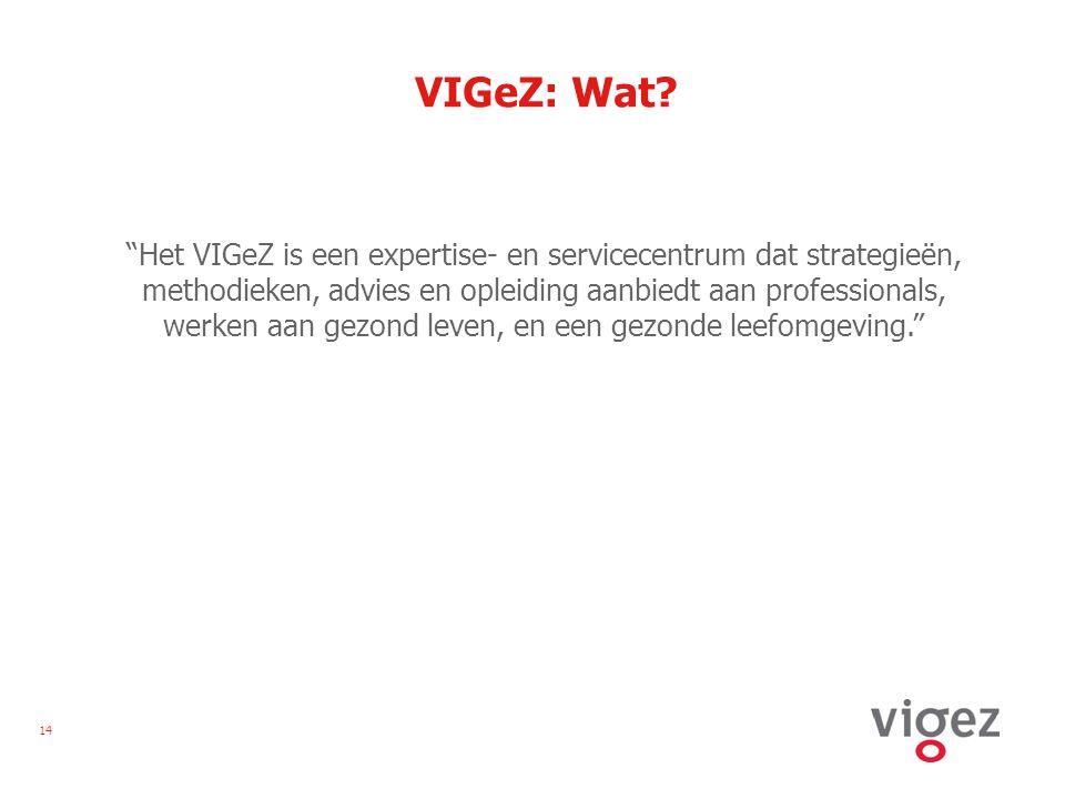 14 VIGeZ: Wat.