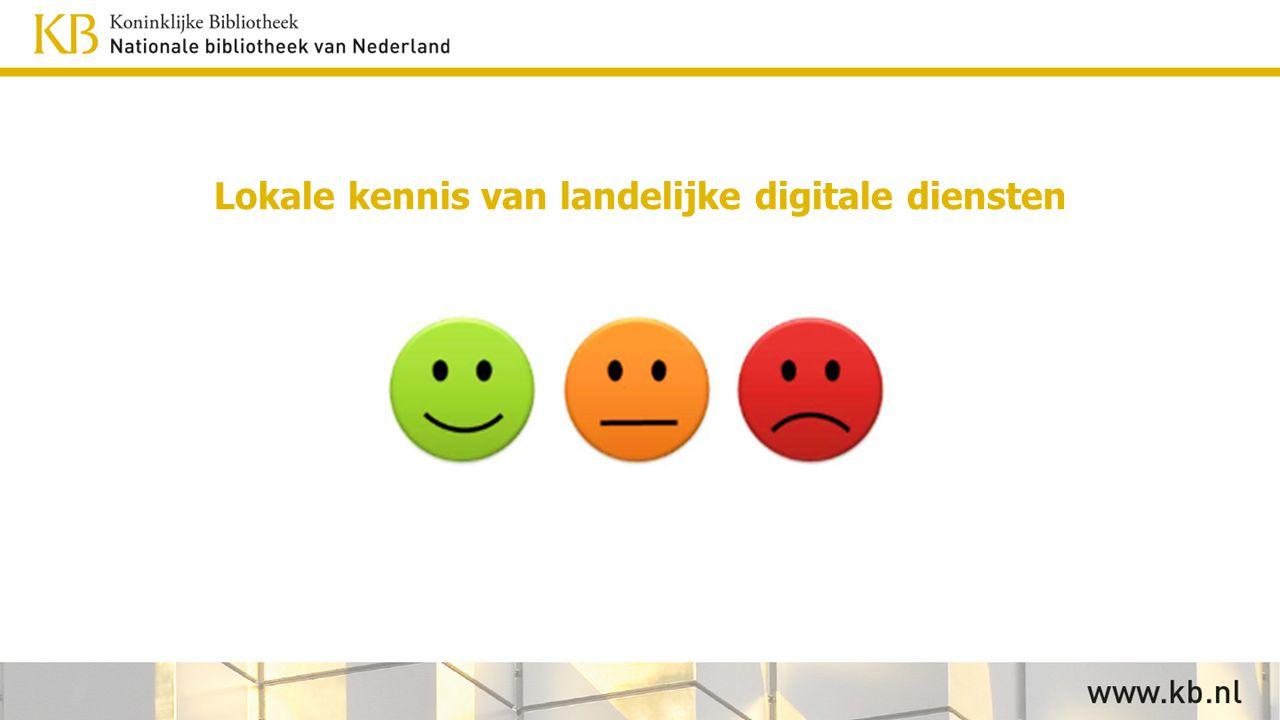 Lokale kennis van landelijke digitale diensten