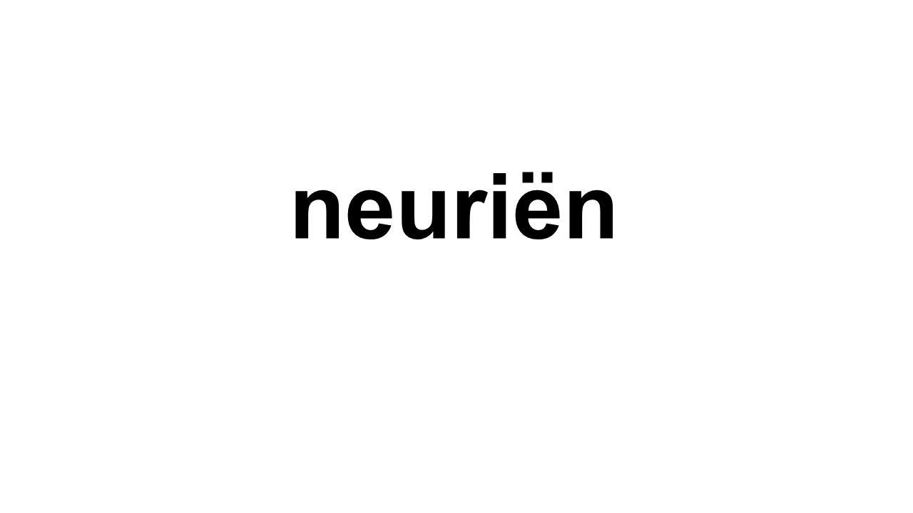 neuriën