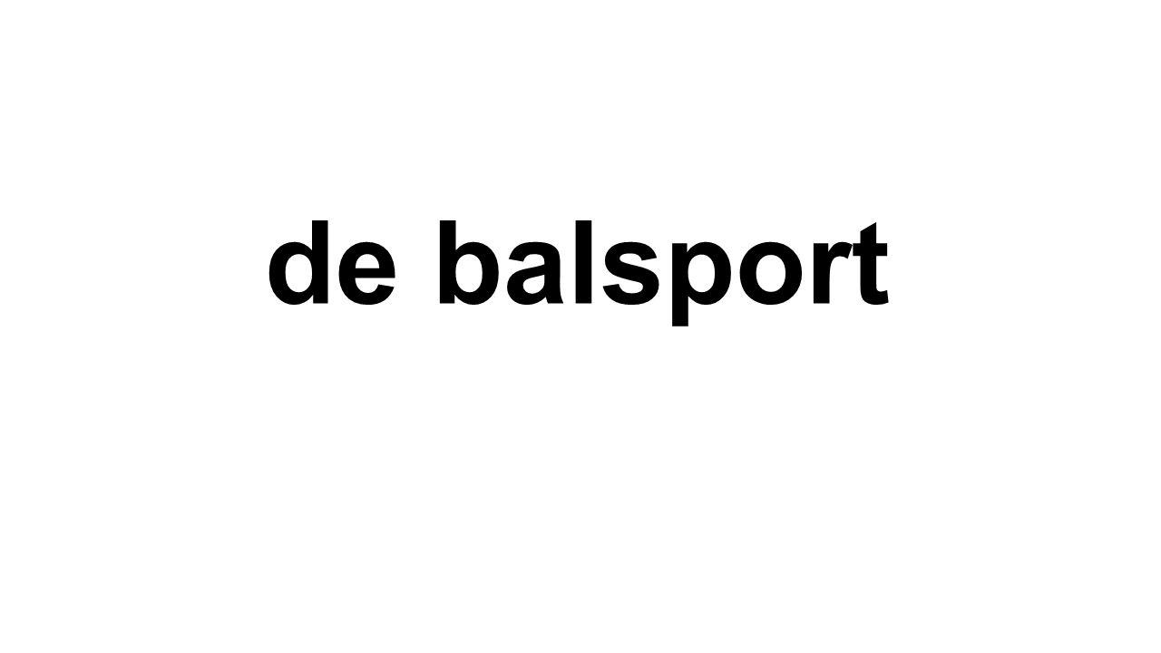 de balsport