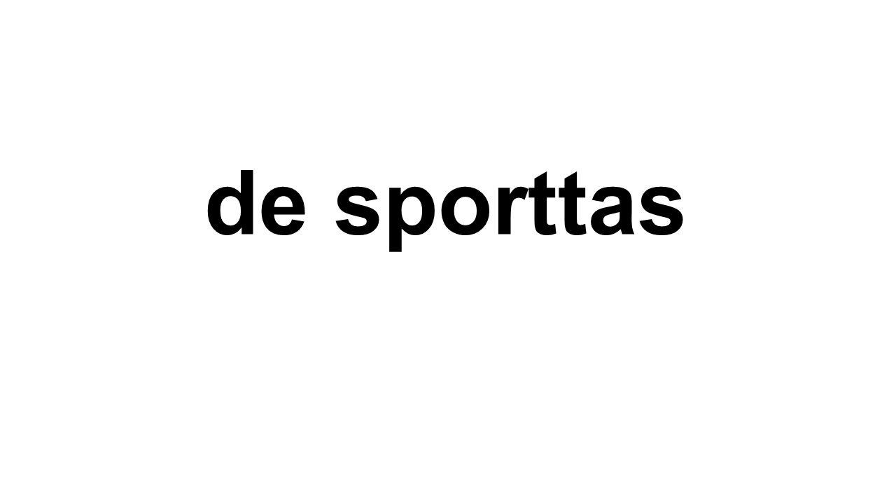de sporttas