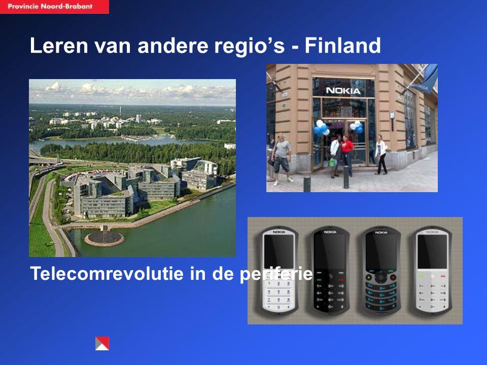 Leren van andere regio's - Finland Telecomrevolutie in de periferie