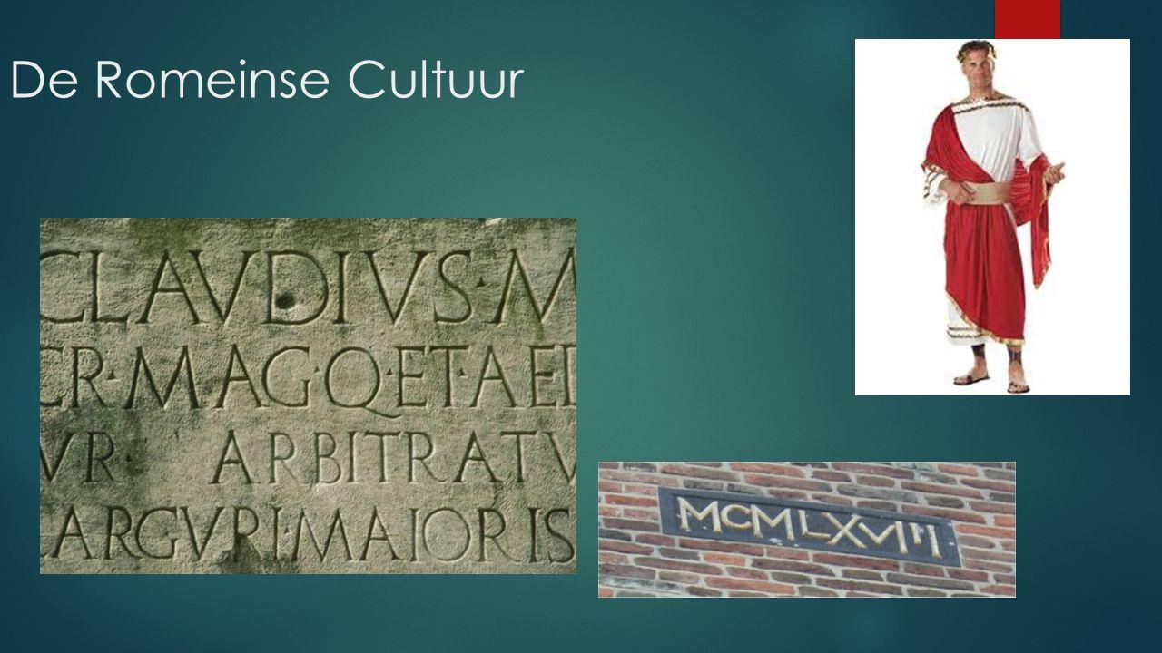 De Romeinse Cultuur