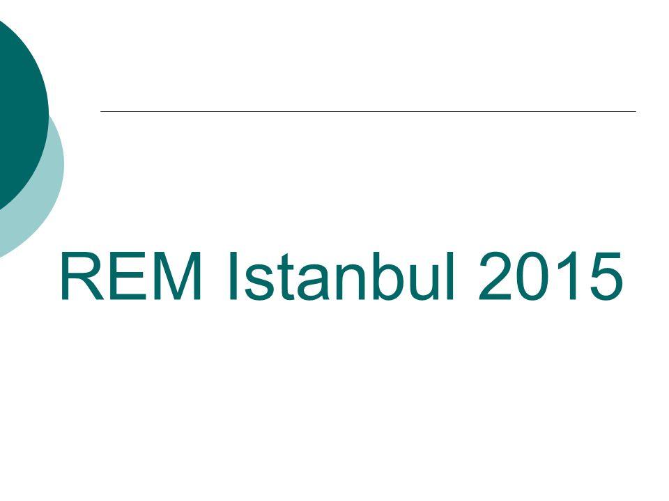 REM Istanbul 2015