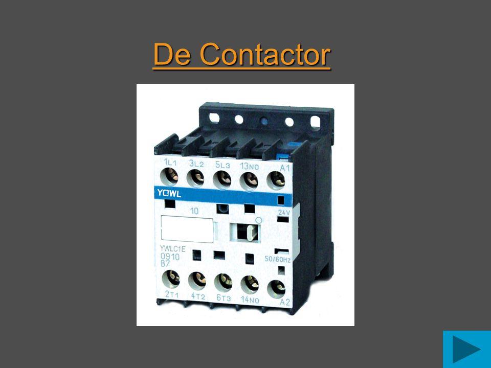 Een contactor is hetzelfde als een relais.