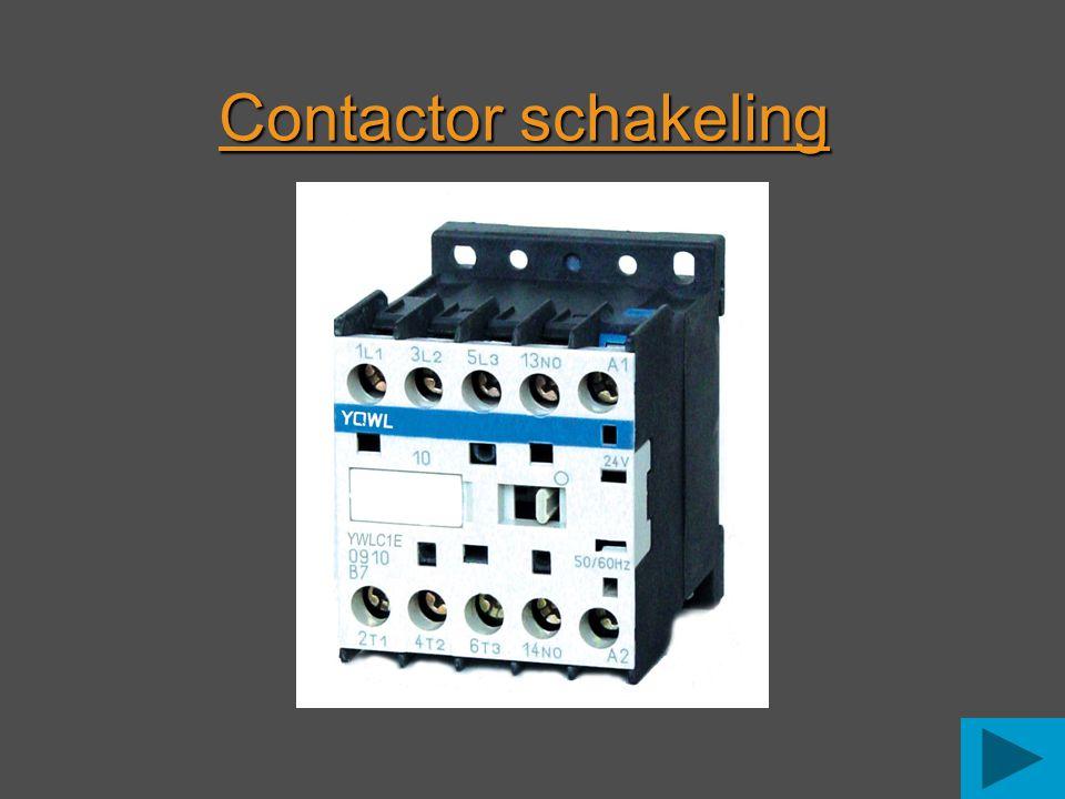 Contactor schakeling