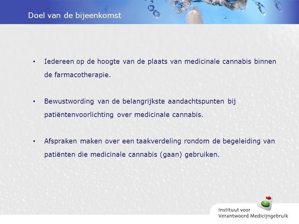 Kennisquiz 15.Een patiënt - die cannabis krijgt voorgeschreven op recept - hoeft geen extra maatregelen te nemen als hij cannabis mee wil nemen op vakantie naar België.