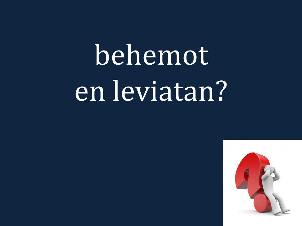 behemot en leviatan?