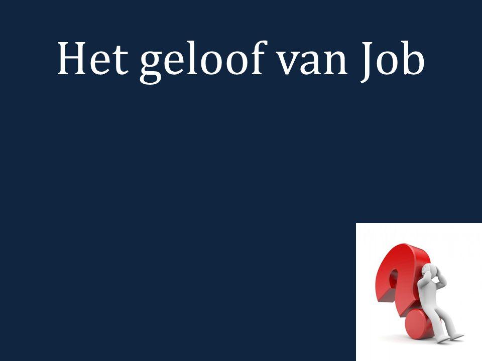 Het geloof van Job