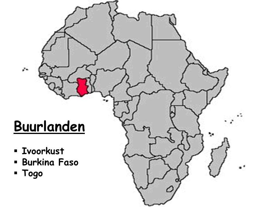 Buurlanden  Ivoorkust  Burkina Faso  Togo