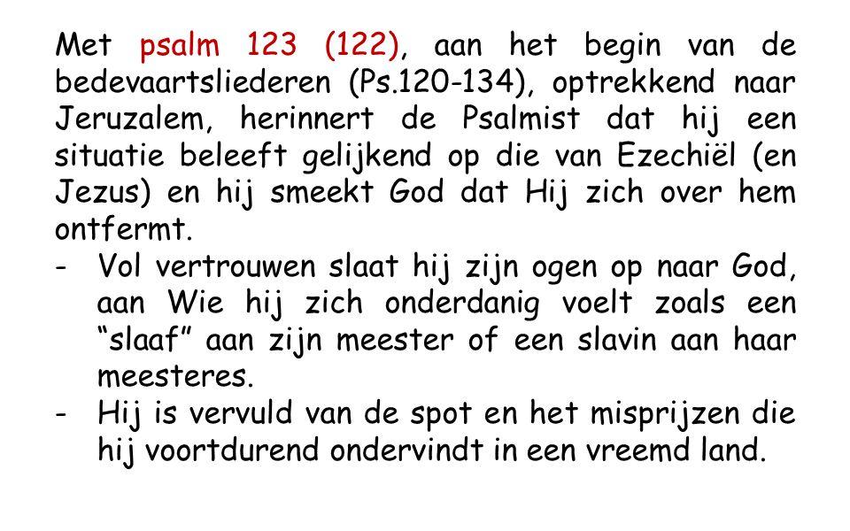 Ez 2, 2-5 In die dagen kwam de Geest over mij en sprak tot mij; Hij deed mij recht overeind staan en ik hoorde hoe Hij tot mij sprak.
