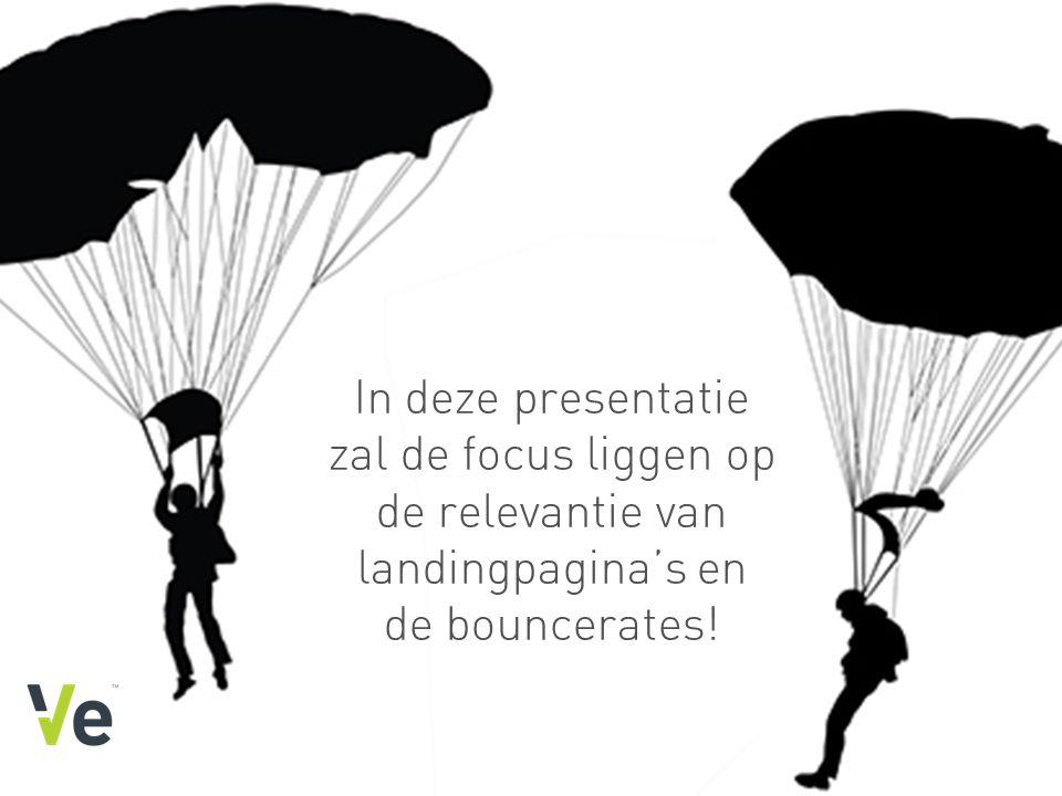 www.veinteractive.com In deze presentatie zal de focus liggen op de relevantie van landingpagina's en de bouncerates!