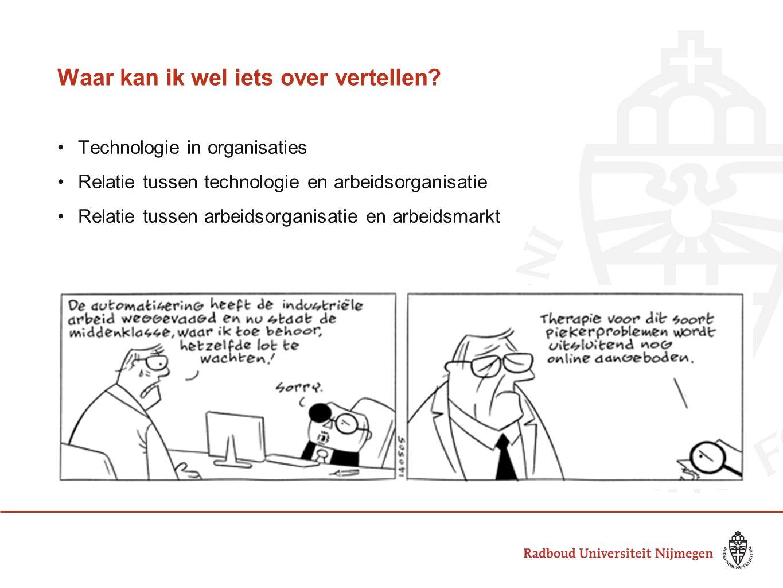 Technologie in organisaties