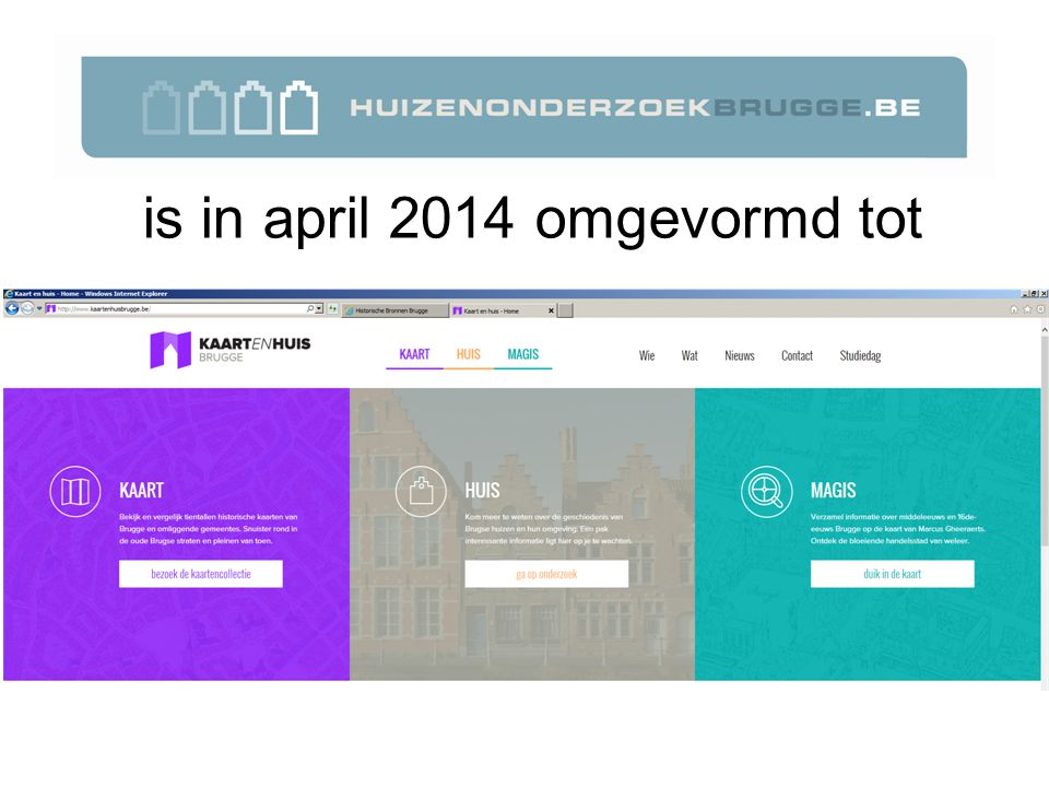 is in april 2014 omgevormd tot