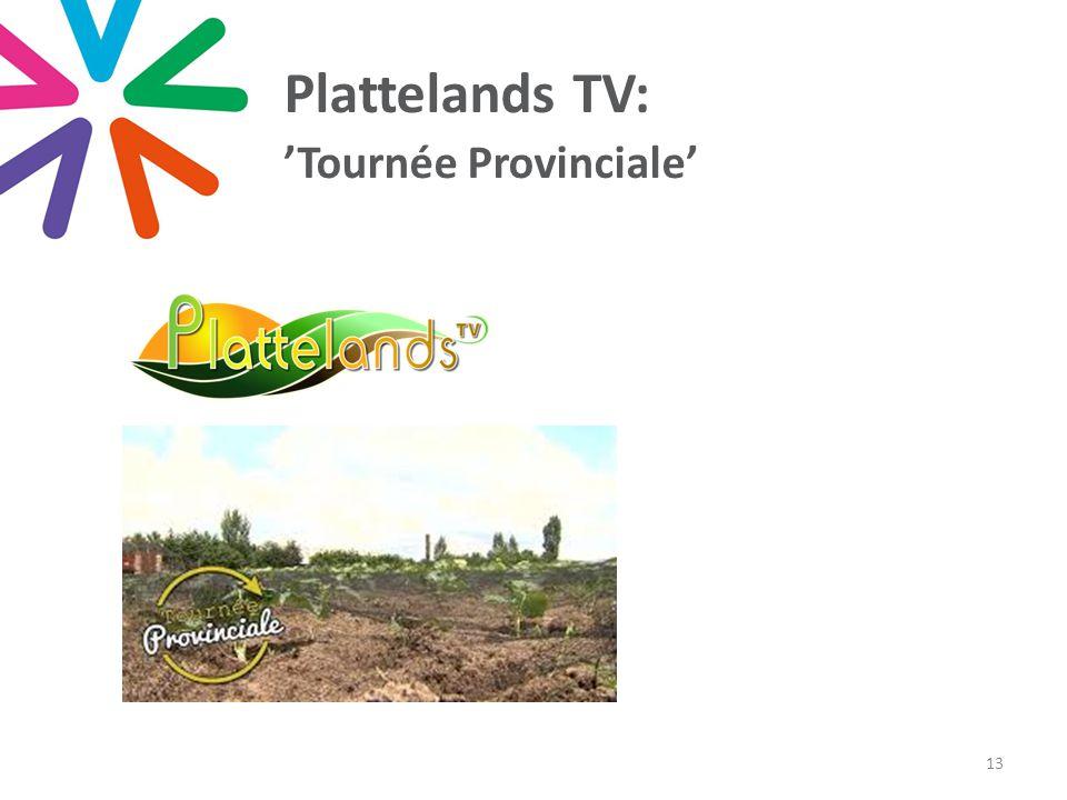 Plattelands TV: 'Tournée Provinciale' 13