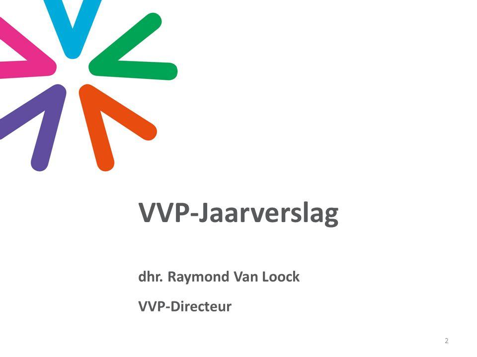 Opbouw jaarverslag '14 Deel 1: voorstelling VVP-bestuur Deel 2: structuur en organisatie VVP Deel 3: uit de beleidssectoren 3