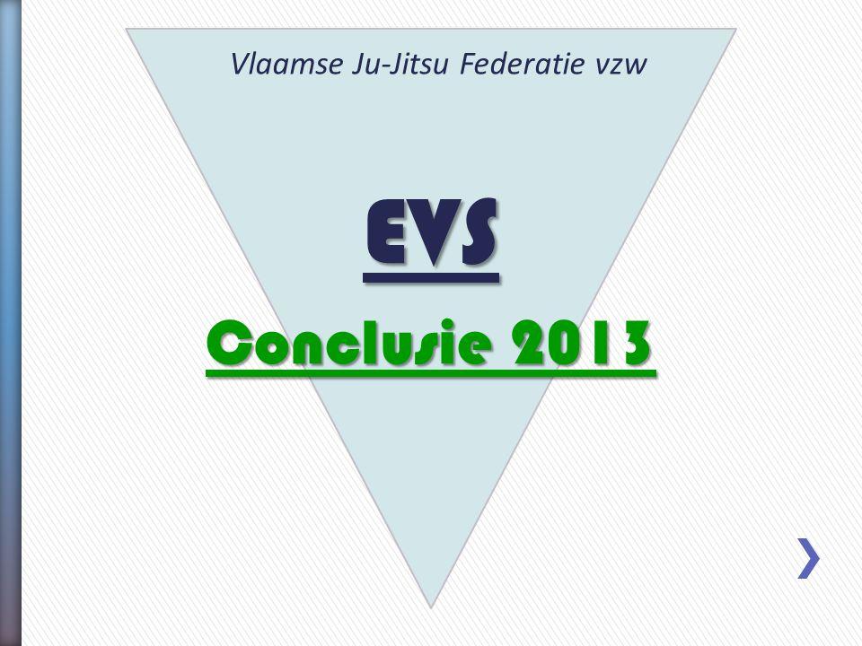 EVS Conclusie 2013 Vlaamse Ju-Jitsu Federatie vzw