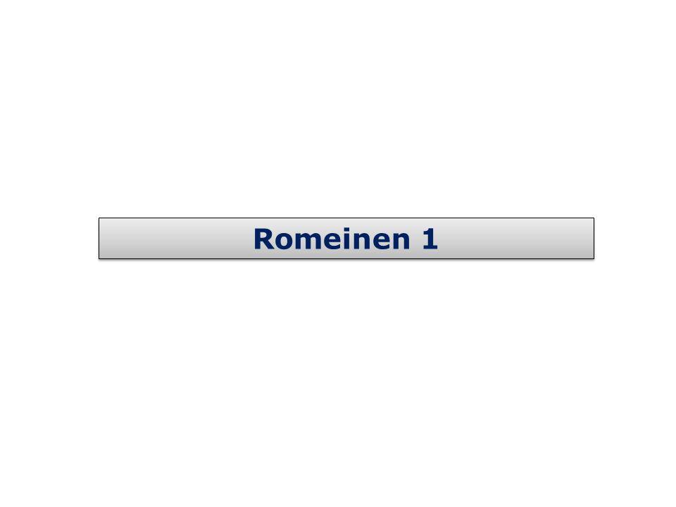 Romeinen 1