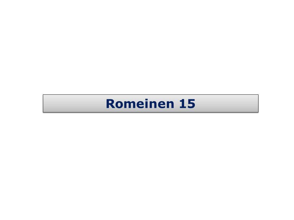 Romeinen 15