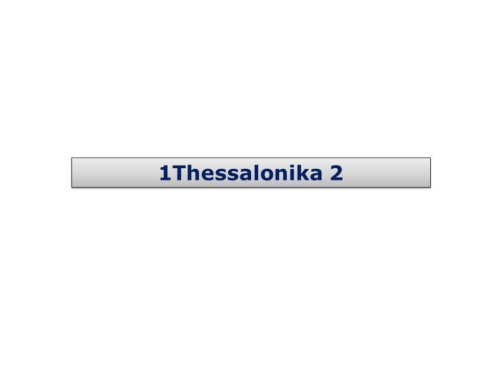 1Thessalonika 2