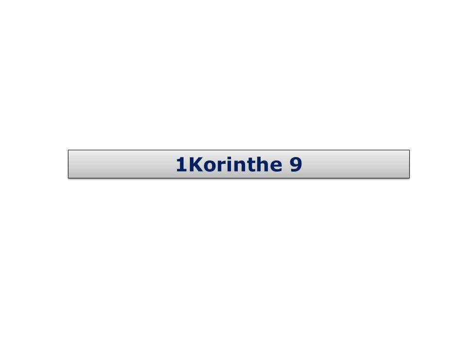1Korinthe 9