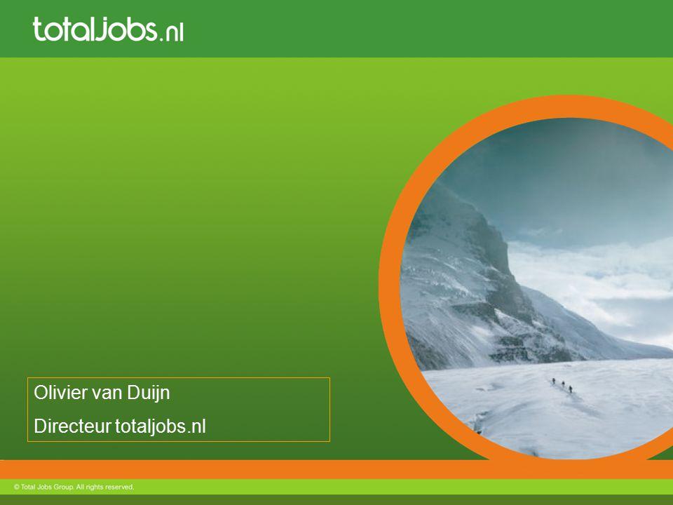 Olivier van Duijn Directeur totaljobs.nl