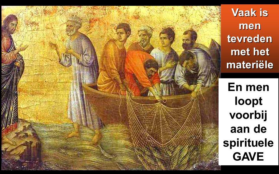 Zij vonden Hem aan de overkant van het meer en zeiden: 'Rabbi, wanneer bent U hier gekomen?' Jezus nam het woord en zeide: 'Voorwaar, voorwaar, Ik zeg