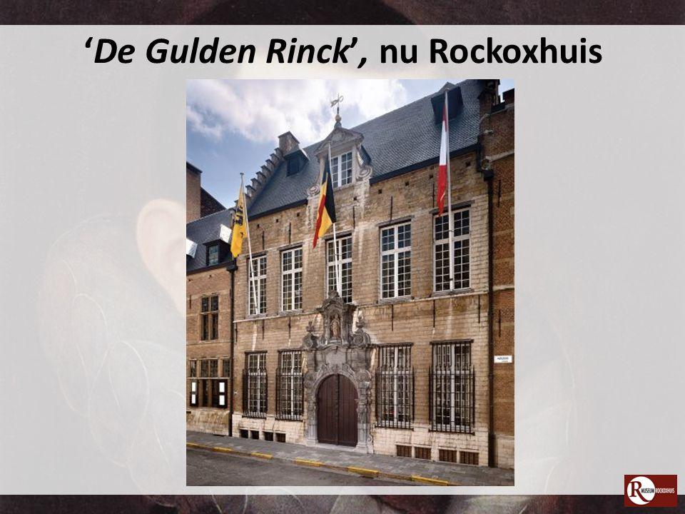 Het Rockoxhuis: de binnenplaats