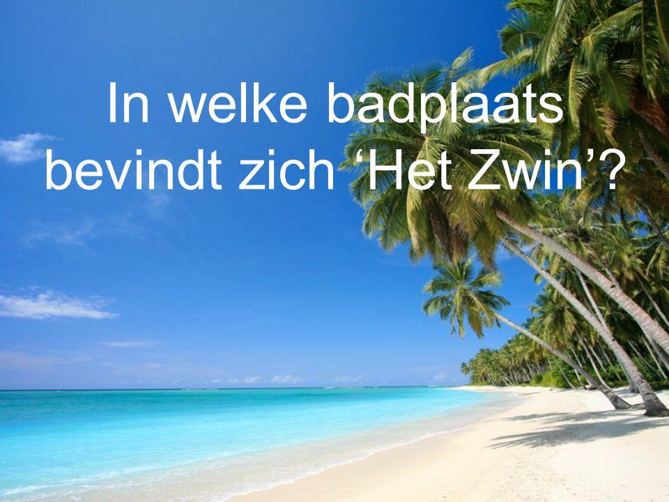 In welke badplaats bevindt zich 'Het Zwin'?