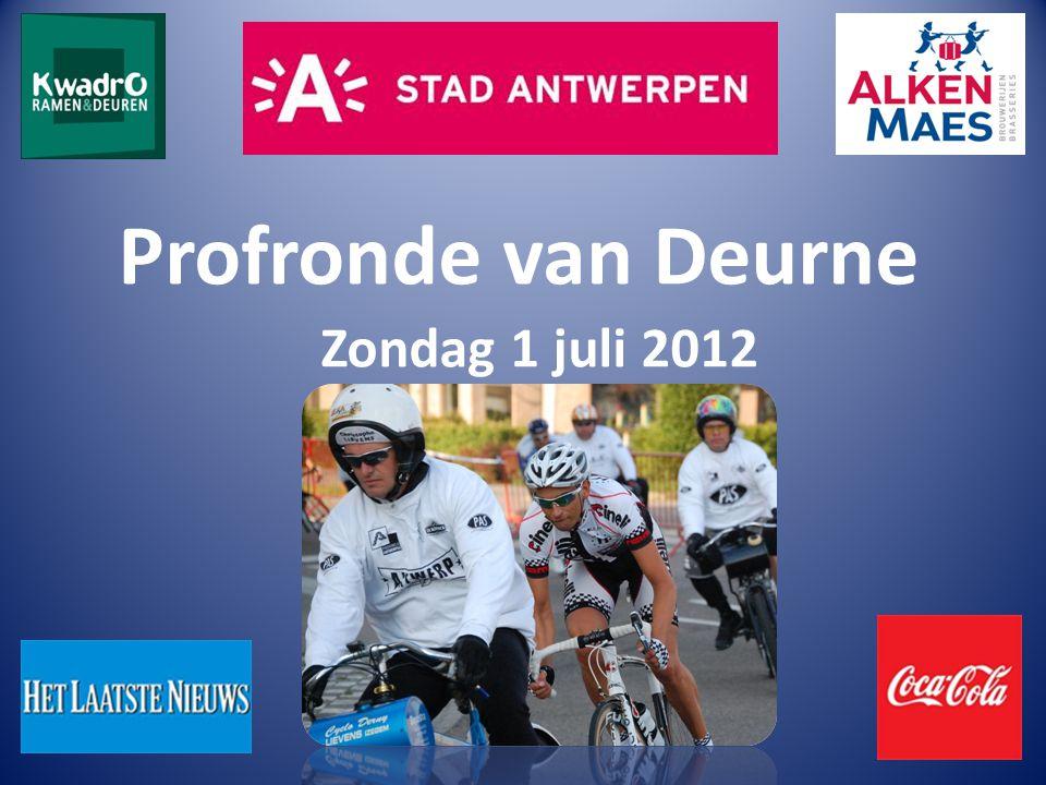 Profronde van Deurne Zondag 1 juli 2012