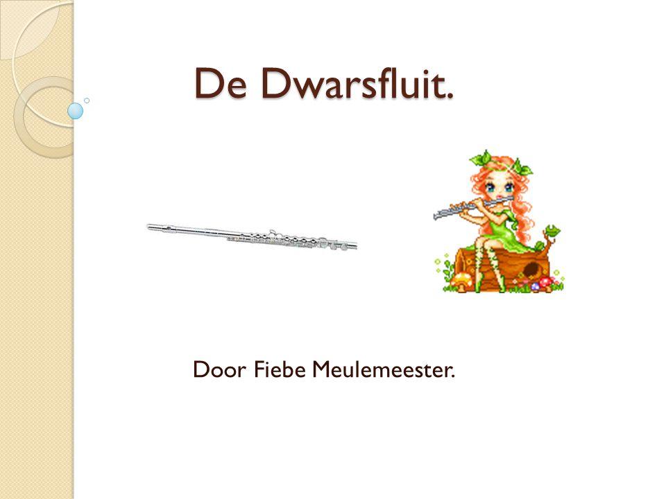 De Dwarsfluit… is in het begin 19 de eeuw ontwikkeld door Theobald Bohm.