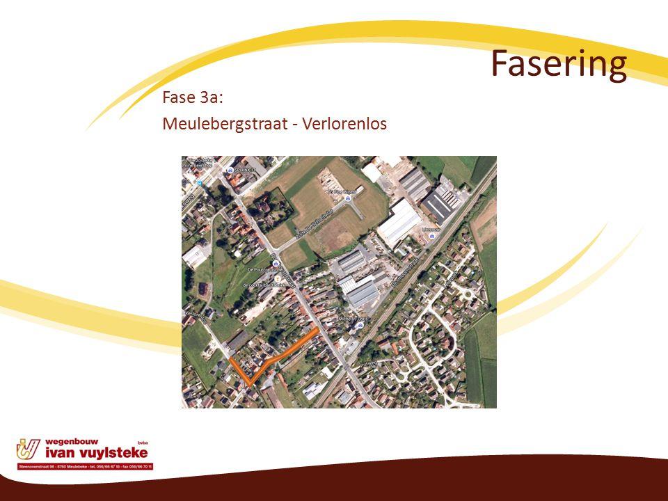 Fasering Fase 3a: Meulebergstraat - Verlorenlos