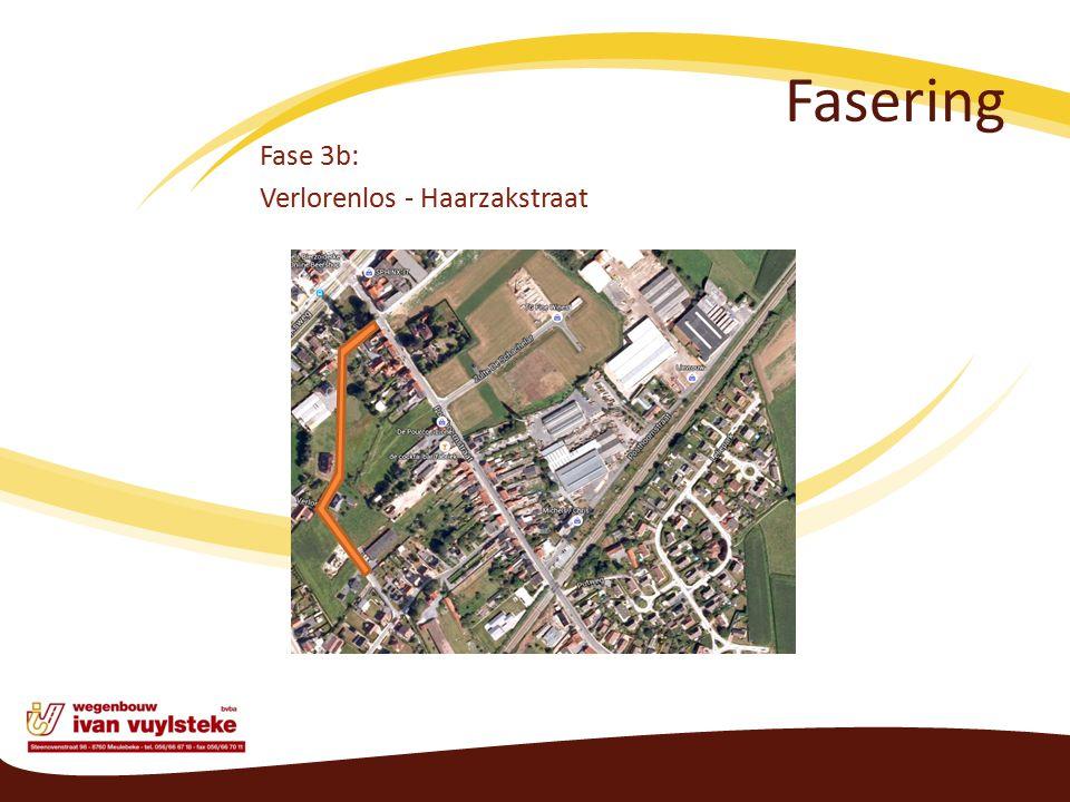 Fasering Fase 3b: Verlorenlos - Haarzakstraat