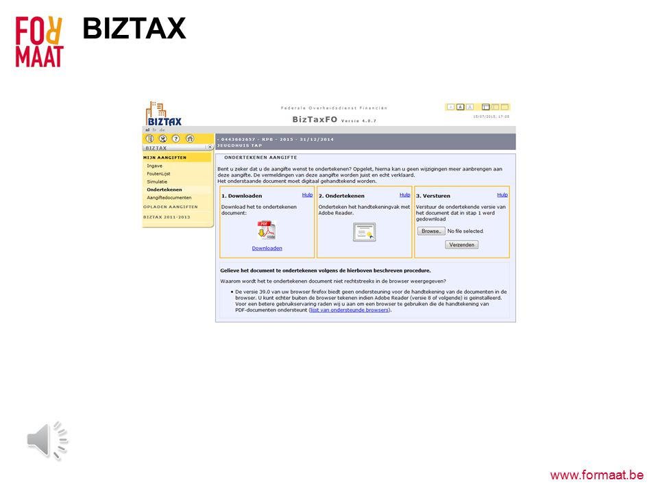 www.formaat.be BIZTAX