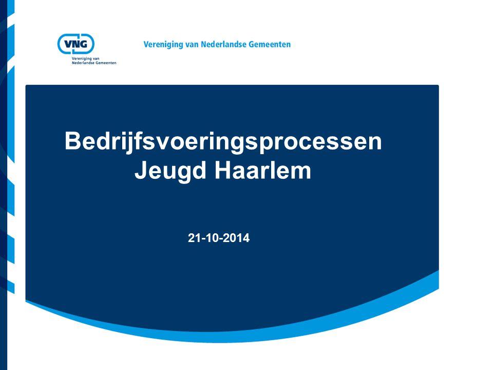 Bedrijfsvoeringsprocessen Jeugd Haarlem 21-10-2014