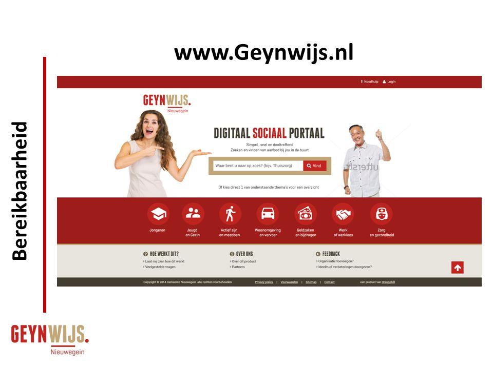 www.Geynwijs.nl Bereikbaarheid