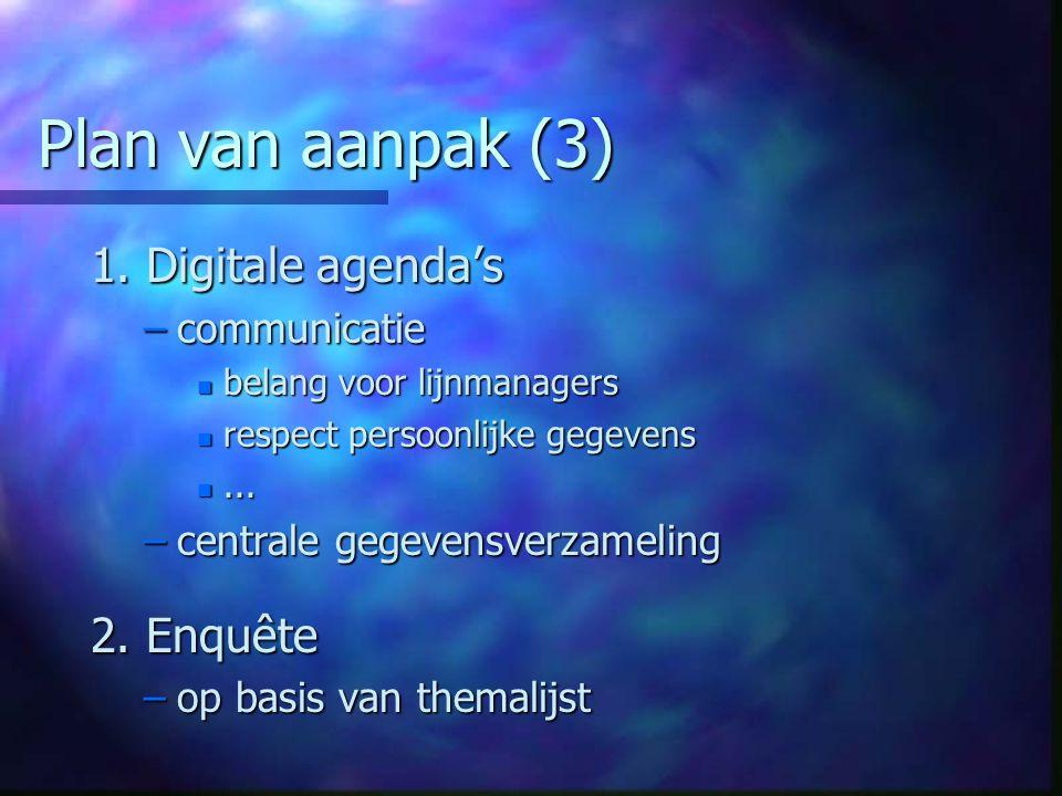 Plan van aanpak (3) 1.