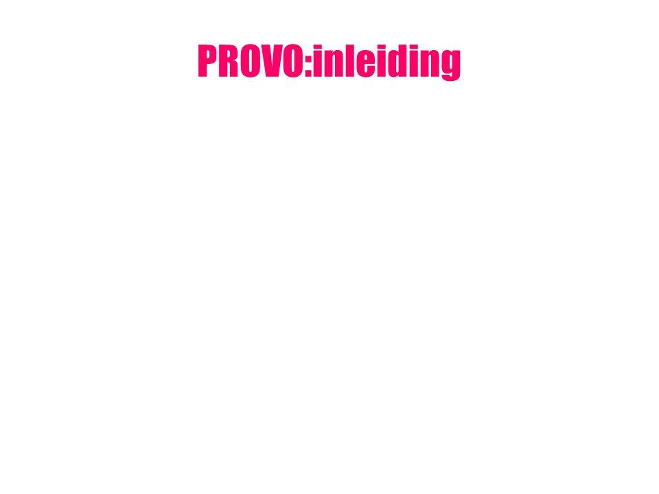 PROVO:inleiding