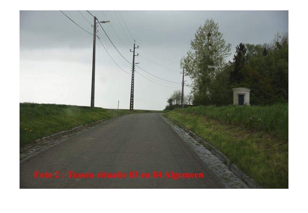 Foto 2 : Tussen situatie 83 en 84 Algemeen