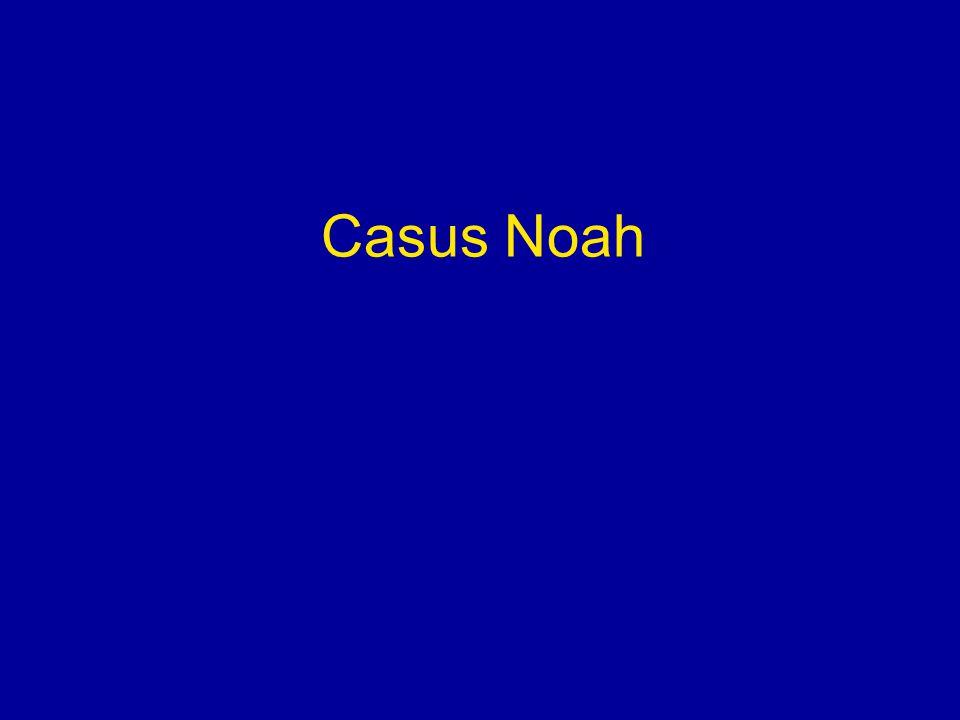 Noah, 16 mnd oud Familie-anamnese positief voor atopie (vader eczeem, AR op hond) Zelf eczeem Op kinderdagverblijf 3 stukjes brood met pindakaas op