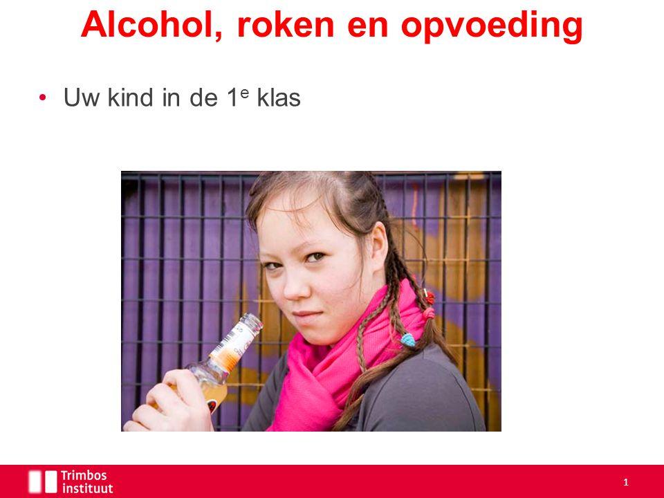Uw kind in de 1 e klas Alcohol, roken en opvoeding 1