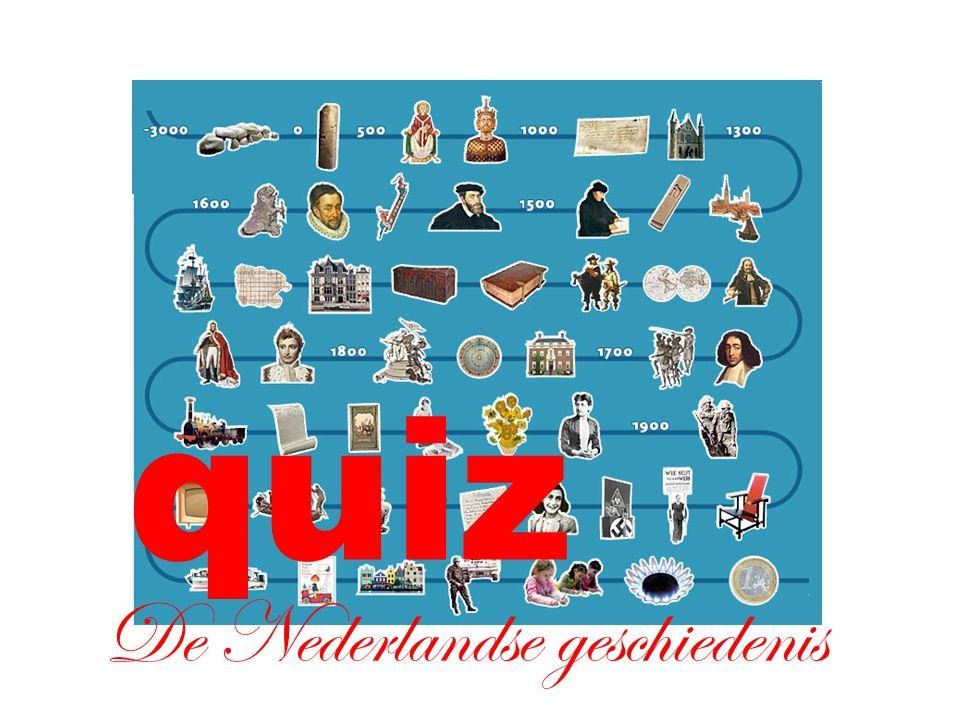 De Nederlandse geschiedenis quiz