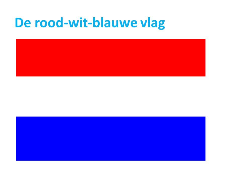 De rood-wit-blauwe vlag