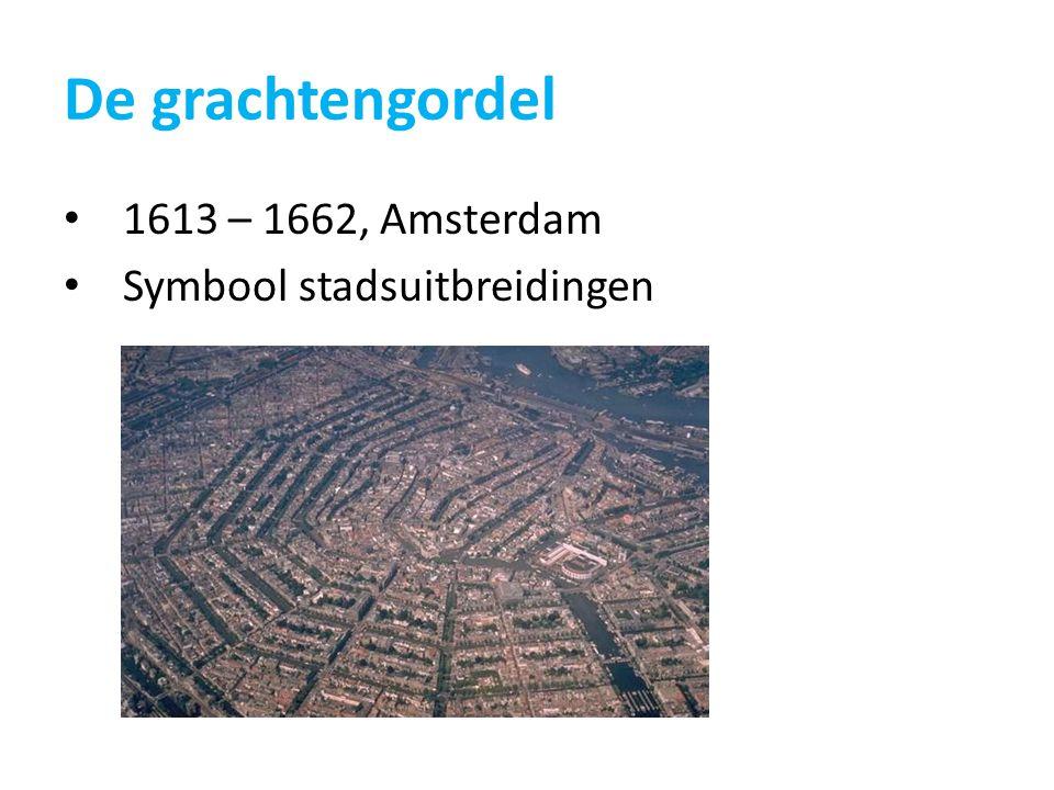 De grachtengordel 1613 – 1662, Amsterdam Symbool stadsuitbreidingen