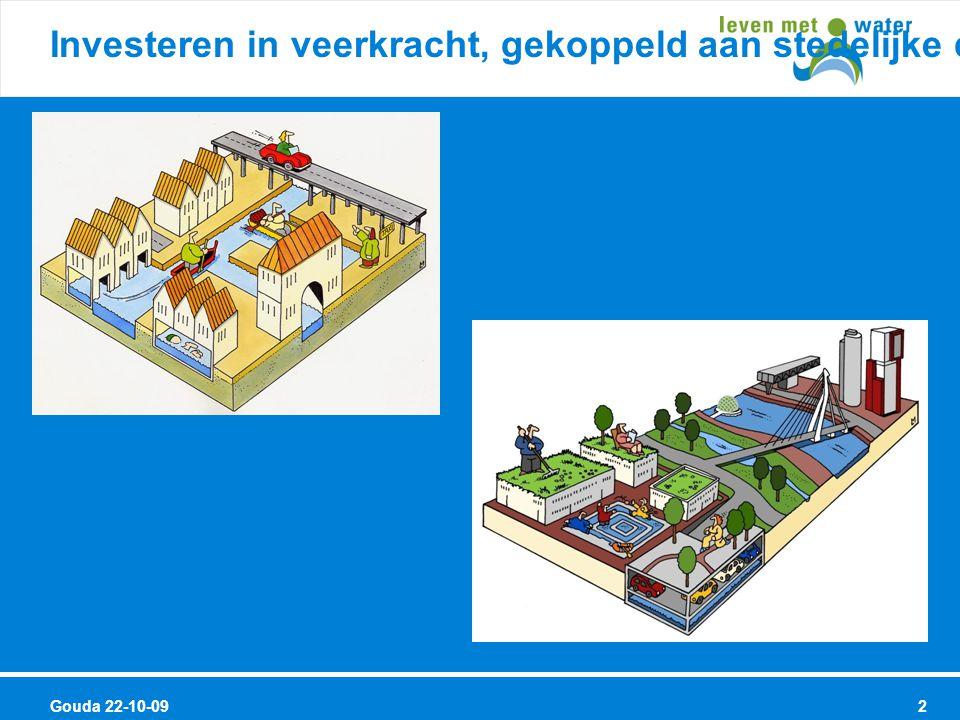 Gouda 22-10-09 3 Titel Samenwerking waterbeheerders met andere gebiedsbeheerders Kernboodschap 2