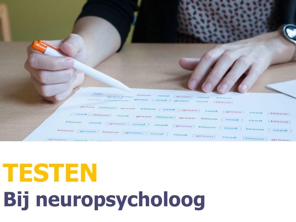 TESTEN Bij neuropsycholoog
